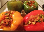 Meat & Veggie Stuffed Peppers