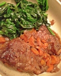 Short Ribs & Spinach